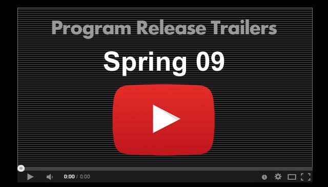 【Spring09】Program Release Trailers