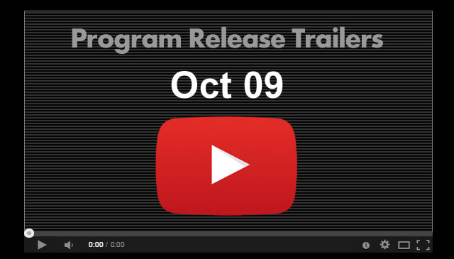 【Oct09】Program Release Trailers