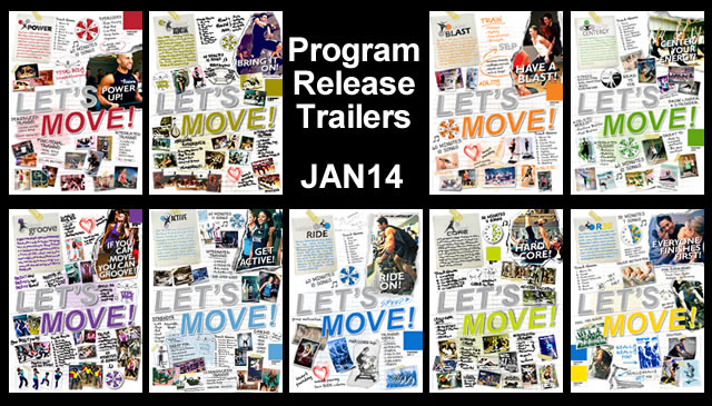 【Jan14】Program Release Trailers