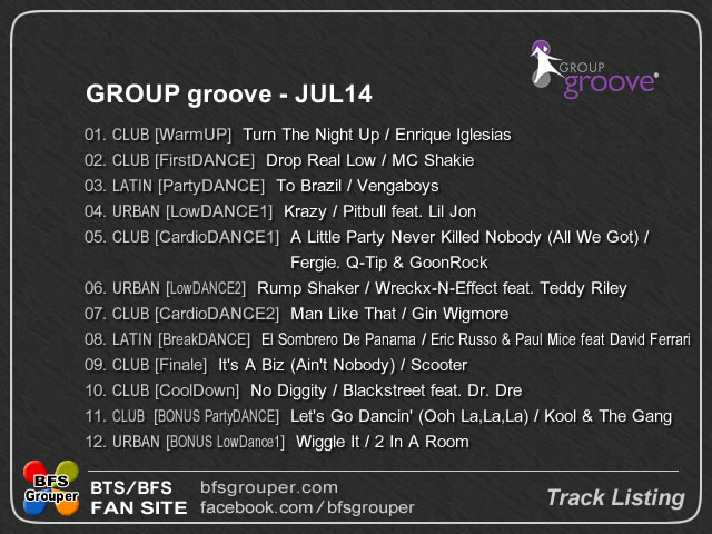 GroupGroove  JUL14