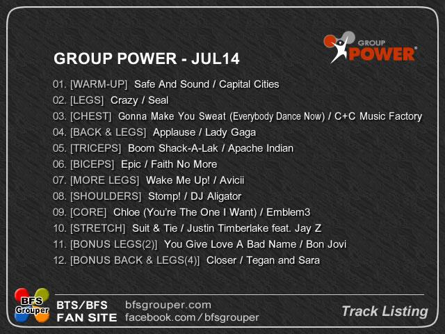 GroupPower  Jul 14