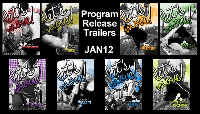 【Jan12】Program Release Trailers