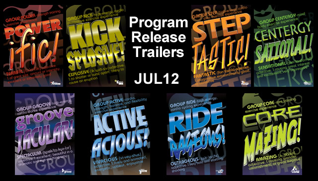 【Jul12】Program Release Trailers