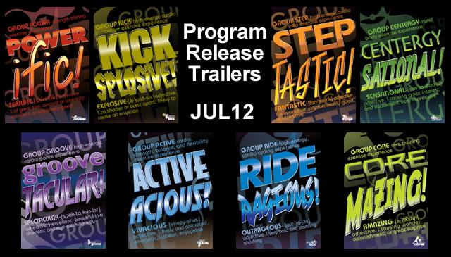 【Jul12】Program Release Trailers