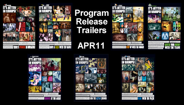 【Apr11】Program Release Trailers