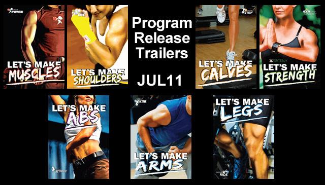 【Jul11】Program Release Trailers