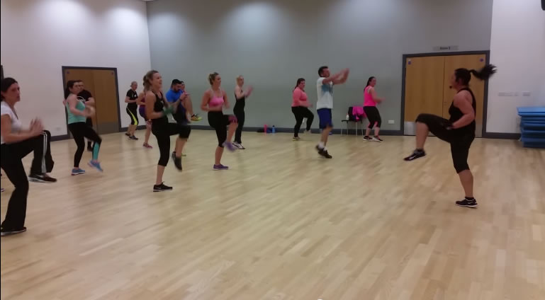 MOSSA Group Kick training