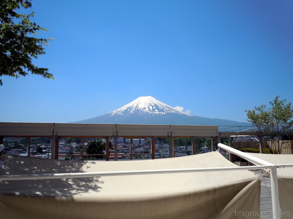 Fujisan08展望デッキからの富士山
