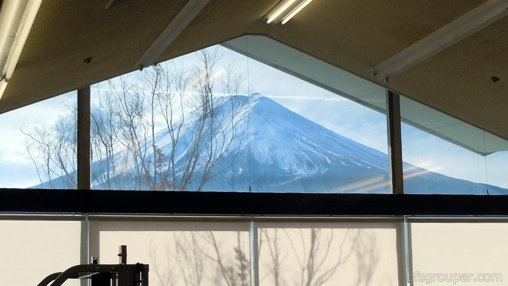 富士山スタジオからの眺望