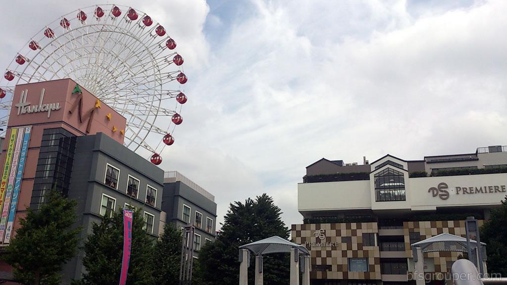 『モザイクモール港北』(都筑阪急百貨店)