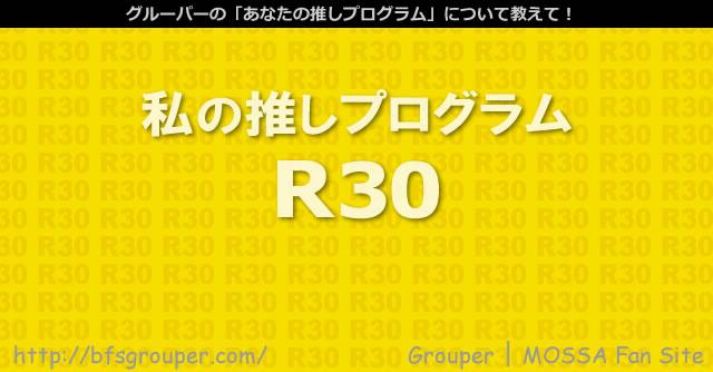推しのR30紹介