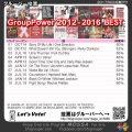 【人気投票結果】GroupPower<2012-2016>Best/2017-03集計