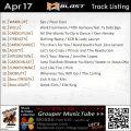 GroupBlast【Apr17】曲リスト