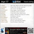 GroupRide【Apr17】曲リスト