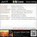 GroupCore【Jul17】曲リスト