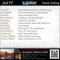 GroupRide【Jul17】曲リスト
