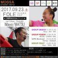 【Mayo・MATSU】FOLE フィットネスクラブ20170923土【GG/GP/VW/GF】東京