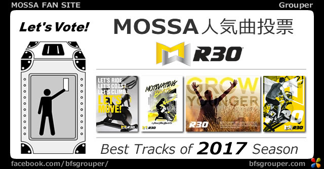 R30<2017リリース全曲>人気投票