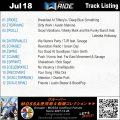 GroupRide【Jul18】曲リスト/元曲動画&試聴&曲購入