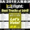GroupFight 2018 人気曲決定選挙!