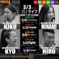 【KIKU・HIRO・KYO・MINAMI】スポーツクラブライフ20190303日MOSSA新曲【Jan19】福島