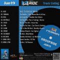 GroupRide【Jan19】曲リスト/元曲動画&試聴&曲購入