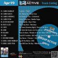 GroupActive【Apr19】曲リスト/元曲動画&試聴&曲購入