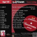 GroupPower【Apr19】曲リスト/元曲動画&試聴&曲購入