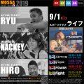 【RYU・HIRO・NACKEY】スポーツクラブライフ20190901日MOSSA新曲【Jul19】福島