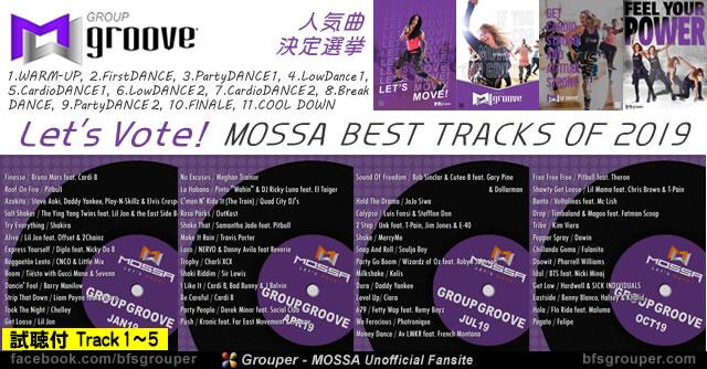 GroupGroove 2019リリース分 人気曲決定選挙!【試聴付2-1】