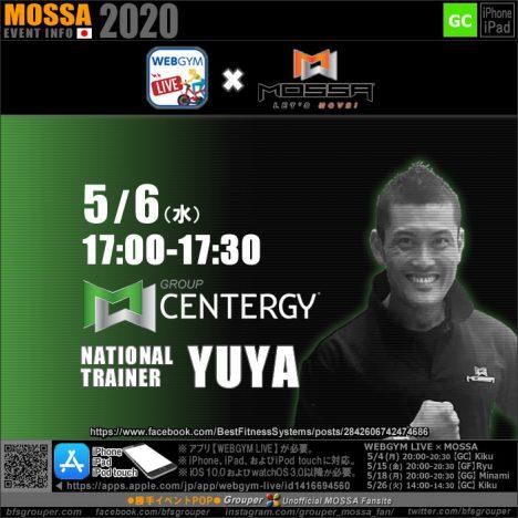 【YUYA】20200506水【GC/WEBGYM LIVE × MOSSA】
