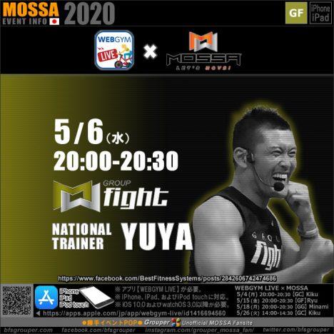 【YUYA】20200506水【GF/WEBGYM LIVE × MOSSA】