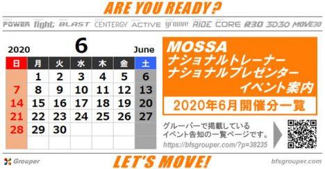 6月のMOSSAナショナルトレーナー/プレゼンターイベント2020