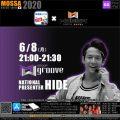 【HIDE】20200608月【GroupGroove/WEBGYM LIVE × MOSSA】アプリ配信