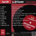 GroupPower【Apr20】曲リスト/元曲動画&試聴&曲購入