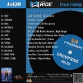 GroupRide【Jul20】曲リスト/元曲動画&試聴&曲購入