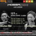 【MOSSA MOVE】10/9(金) Tomo・Chika ライブ配信/Blast・Power・Core・Fight