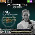 11/9(月) MOSSA MOVE ライブ配信 – Minami/Centergy・Groove
