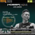 11/13(金) MOSSA MOVE ライブ配信 – Tomo/Core・Fight