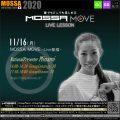 11/16(月) MOSSA MOVE ライブ配信 – Minami/Centergy・Groove