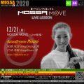 12/21(月) MOSSA MOVE ライブ配信 – Minami/Centergy・Groove