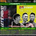 2/6(土) Jan21先行★GroupPower/Tomo・Hiro・Daiki★リリースLive@MOSSA MOVE