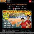 20210223(火) テニスコートでGroupPower 60!メガロス草加 – 埼玉