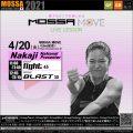 4/20(火) Fight・Blast/Nakaji<MOSSA MOVE ライブ配信>